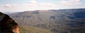 Blue Mountains panorama view